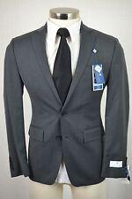 (42R) NEW Ryan Seacrest Men's Charcoal Gray SLIM FIT Blazer Sport Coat Jacket