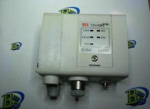 SMC PNEUMATICS EX250-SEN1-X156 SI ETHERCAT UNIT 24VDC 32 POINT IN/OUT