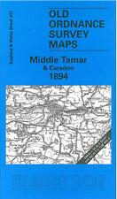 Old Ordnance Survey Map Middle Tamar & Caradon 1894 - England Sheet 337