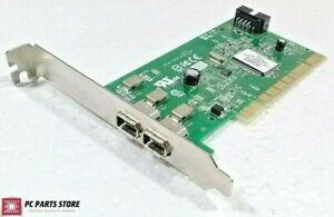 Genuine Dell Dual Port Adaptec AFW-2100 IEEE-1394 FireWire PCI Card Y9457 0Y9457