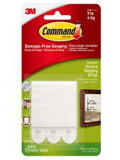 Command™ 17201 Medium Picture Hanging Strips 1 Pack of 3 Sets