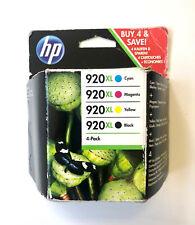 4x original tinta HP OfficeJet 6000 6500a plus 7000 7500 nº 920xl Cartridge set