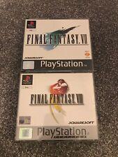 Playstation Final Fantasy VII and VIII - Retro Games