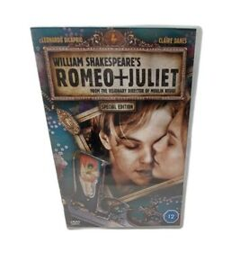 Romeo + Juliet DVD Movie  - Romance Leonardo DiCaprio Free Tracked Postage