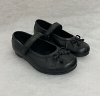 Girls Clarks School Shoe Tasha Ally Black Leather Size 8G Sale Price Was £30