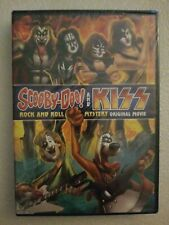 New Sealed DVD Scooby Doo & KISS Rock & Roll Mystery Original Movie Hanna-Barber
