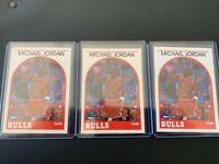 Three Michael Jordan 1989-1990 Hoops Potential PSA 10's???