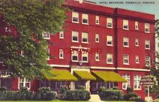 HOTEL WEYANOKE, FARMVILLE, VA. C T Fleenor, Mgr.