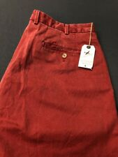 Peter Millar Pants (38 x 37, Red, Cotton)(NWT)(Hole) MSRP $125
