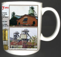 WELBECK COLLIERY COAL MINE MUG LIMITED EDITION GIFT MINERS NOTTINGHAMSHIRE PIT