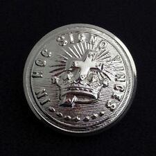 Knights Templar Uniform Button - Large - Silver (KTB-Slg)