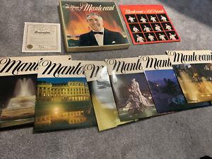 READERS DIGEST THE MAGIC OF MANTOVANI 7X LP BOX SET