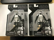 "2 Scout Trooper 6"" The Black Series STAR WARS Archive Hasbro 2019 MOC Troopers"