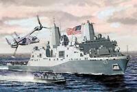 1:700 Scale USS New York LPD-21 Ship Model Kit #1423