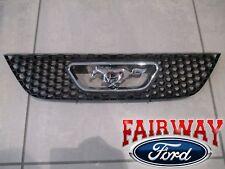 99 thru 04 Mustang OEM Genuine Ford Honeycomb Grille w/ Chrome Pony Emblem NEW