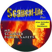 Scancat-Lite-Plus COMBO CD Programming Software Uniden RadioShack Whistler