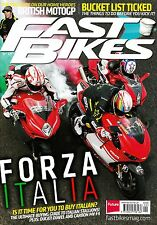 FAST BIKES #279 September 2013 FORZA ITALIA Ducati Diavel CARBON MV F4 @NEW@