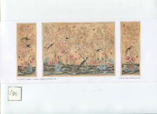 Chinoiserie wallpaper Half Scale 1/24 JMS57 Jackson's Miniatures 1pc.