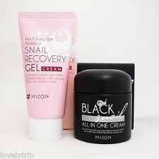 MIZON Black Snail All In One Cream 75ml + MIZON Snail Recovery Gel Cream 45ml