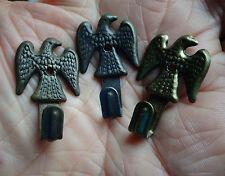 Anciens Crochets à pendre Tableau ou Décoration à l'Aigle