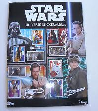 TOPPS Star Wars Universe Sticker-vuoto ALBUM RACCOGLITORE ALBUM NUOVO & OVP