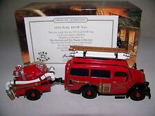 MATCHBOX MODELS OF YESTERYEAR 1950 FORD E83W VAN FIRE TRUCK  SCALE 1:43
