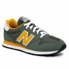 Scarpe sportive uomo New Balance GM500TRU Verde-Giallo Senape mesh-suede