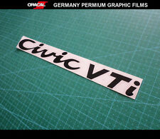 Civic VTi Honda Car Decal vinyl Sticker