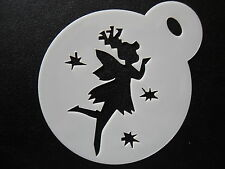 Laser cut small fairy stars design cake, cookie, craft & face painting stencil