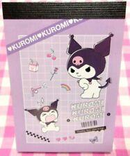 Sanrio Kuromi Mini Memo Pad / Made in Japan 2021