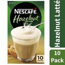 Nescafe Hazelnut Coffee Sachets 10 pack