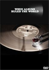 WHEN ALBUMS RULED THE WORLD - BBC FOUR DOCUMENTARY DVD vinyl record turntable
