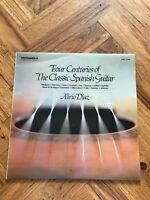 """Alirio Diaz Four Centuries of the Classic Spanish Guitar 12"""" Vinyl LP"""