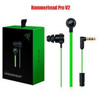 Razer Gaming Hammerhead Pro V2 PC Music Gaming Headphones Earphone PC Laptop Mic