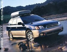 2002 Subaru Outback 26-page Original Car Sales Brochure Catalog