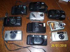 10 Cameras, Pentax, Nikon, Minolta, Ricoh, Kodak, Canon, Hp, Samsung + L30T, Fs
