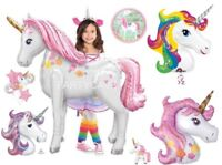 Giant MAGICAL UNICORN Helium Foil BALLOON - Choice 10 Designs Party Decoration