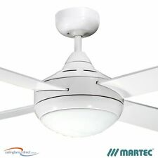 """FOUR SEASONS PRIMO 48"""" WHITE CEILING FAN WITH LIGHT - FSP1244W NEW MARTEC"""