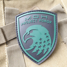 Medal of Honor WARFIGHTER MOH Project Honor USA ARMY 3D PVC MORALE Patch