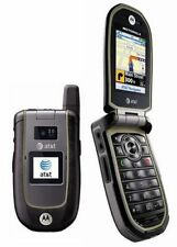 New Motorola VA76R Tundra AT&T Unlocked GSM Rugged Durable GPS Flip Cell Phone