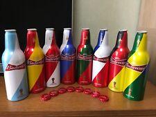 China Version Budweiser 2018 Russia World Cup 355ml Empty Aluminum Bottle Set