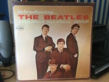 The Beatles-Introducing...Veejay Blacklabel SR 1062 unofficial copy. Very rare