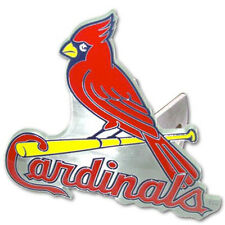 St Louis Cardinals MLB TEAM LARGE DIE CUT 3D LOGO TRUCK HITCH COVER  ~ New