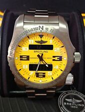 Breitling Emergency II E76325 Yellow Dial - Box & Paperwork 2014