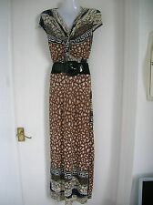 NEW W/T SEXY SIZE 10 12 SUMMER MAXI DRESS WEDDING OUTFIT PARTY CRUISE HOLIDAY M