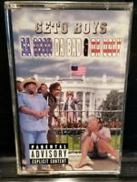 Geto Boys - Da Good Da Bad & Da Ugly Cassette Tape 1998 rare gangster rap hiphop