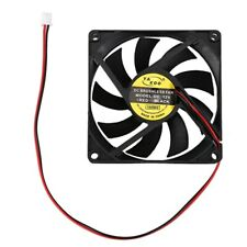 DC 12V 0.18A 2 Pin Connector PC Computer Case Cooling Fan 80x80mm W5Z6
