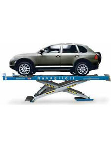 Alemlube Wheel Alignment Scissor Lifting Capacity 4,200kg (RAV640.2)