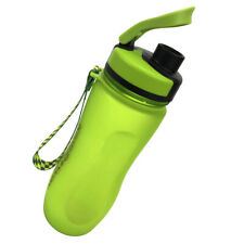 Green Lightweight Sports Water Bottle Reusable Portable Gym Cycling Drink Bottle