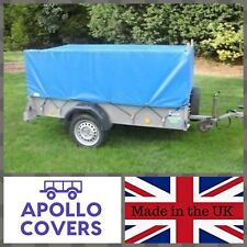 TRAILER COVER FOR IFOR WILLIAMS P8E WITH MESH SIDES